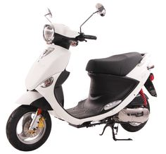 White 50cc Scooter ;)