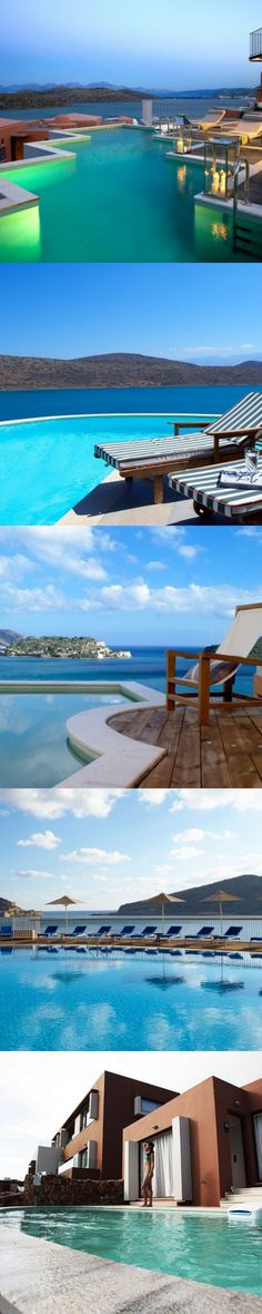 Domes of Elounda (Crete) collection features suites for couples, family suites, private residences and luxury villas.