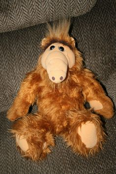 "ALF Vintage 18"" 1986 Plush Stuffed Animal Doll Television Show Alien Production  #ColecoAlienProductions"