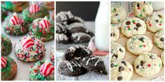 Be the star of the cookie swap. 50 Christmas cookies that are basically a gift in themselves. Holiday Cookie Recipes, Holiday Baking, Christmas Baking, Cookie Ideas, Christmas Recipes, Holiday Desserts, Christmas Sweets, Christmas Goodies, Christmas Candy
