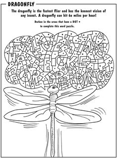 Alphabet Hidden Picture Coloring Book (Dover Coloring