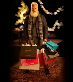 Every Saturday in December, come to Yorkdale and take some #SelfiesforSickKids with model Paul Mason aka Fashion Santa.