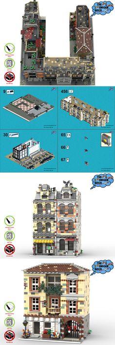 Leisure Club Custom instruction consisting of LEGO elements