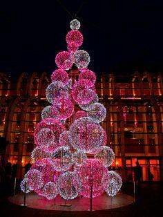 By NikitaDB. Paris Xmas / Paris Christmas / Paris Noel. Les Halles.