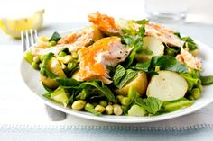 10 Filling Summery Salads You Can Make at Home: Crisp, fresh salads are wonderful on a hot summer day, but you need more than just lettuce and veggies to make a meal. These...