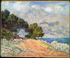 Cap Martin, near Menton (1884) by Claude Monet. Description from pinterest.com. I searched for this on bing.com/images