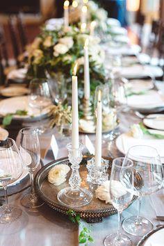 La Tavola Fine Linen Rental: Tuscany Natural Table Runner | Photography: Anna Delores, Event Planning & Design: Wedding Kate, Floral Design: Coco Rose Design, Venue: Bacara Resort & Spa, Rentals: Otis + Pearl