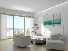 Wohnzimmer Einrichten Beispiele Weiße Möbel Helles Ambiente