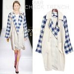 Today's Hot Pick :Gingham Long Sleeved Trench Vest http://fashionstylep.com/SFSELFAA0005278/dalphinsen1/out High quality Korean fashion direct from our design studio in South Korea! We offer competitive pricing and guaranteed quality products. If you have any questions about sizing feel free to contact us any time and we can provide detailed measurements.