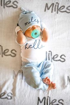 Baby Boy Coming Home Outfit. Newborn Hello Baby Boy Coming Home Outfit. Take Home Outfit Spring Summer - So Cute Baby, Cute Babies, Babies Stuff, Take Home Outfit, Newborn Coming Home Outfit, Baby Going Home Outfit Boy, Foto Baby, Baby Must Haves, Summer Boy