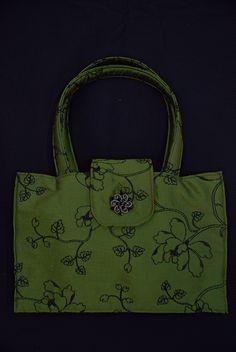 fun, little, silk bag