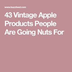 43 Vintage Apple Products People Are Going Nuts For
