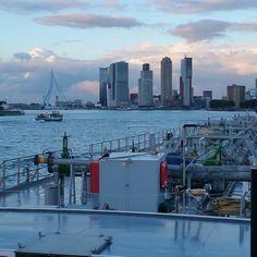 """""""Tot de volgende keer #portofrotterdam  #nlrtm #binnenvaart #tankvaart #duwvaart #manhattanaandemaas"""""""