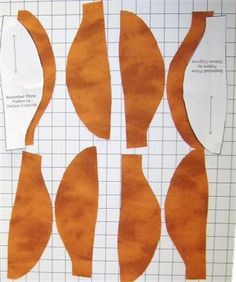 Sew a Fun Basketball Pillow: Free Pattern to Sew a Basketball Pillow - Cutting and Setting Up