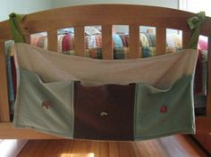 Foot-of-the-Bed pockets for kids' beds