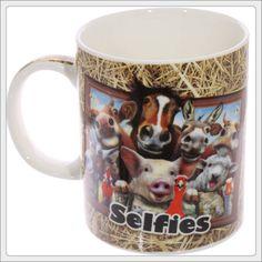 FARM Animal Selfie Howard Robinson Mug