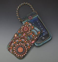 Beaded Smart Phone Case - Beading Pattern/Tutorial Downloadable PDF