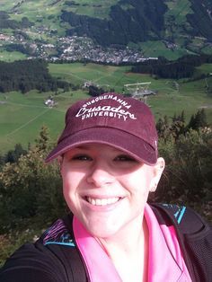 Madeleine Waltman - 2013 Program Participant       Hiking in the Alps