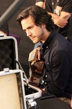 Backstage picture: Jack Savoretti per VEVO