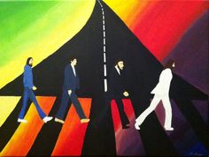 Abbey Road Painting by ~studioartstudENT on deviantART
