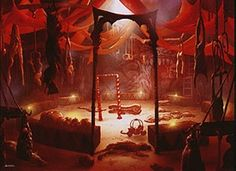 scary carnival | Evil Clown's carnival from the Magic Items 2 sourcebook. The carnival ...