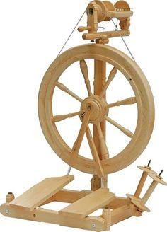 Want!!!!!!  Kromski Sonata Spinning Wheel - handspinning fiber
