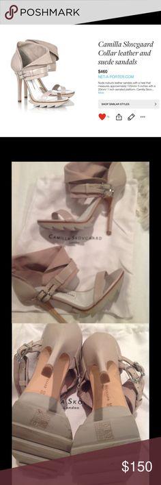 """Camilla Skovaard Leather & Suede Sandals One word...SEXY!  Worn twice.  Excellent condition, 4.5"""" heel. Camilla Skovgaard Shoes Heels"""