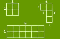 This grade math resource page with lesson plans and teaching tips, explores finding the area of squares, rectangles, and other shapes by counting square units or multiplying length times width. 4th Grade Frolics, 3rd Grade Math, Teaching Tips, Teaching Math, Area And Perimeter, Letter Activities, Science Lessons, Math Resources, Lesson Plans