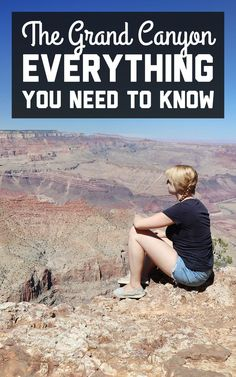 I truly believe that this epic natural wonder, which is so big and so mind-blowing that it doesn't even look real, should be on everyone's must-visit list. Here's everything you need to know for visiting the Grand Canyon! / A Globe Well Travelled