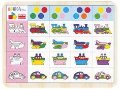 Tabela de Dupla Entrada - Transportes - Mundo Escolar - Material Didático