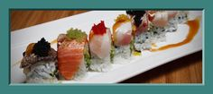sushi rolls -> Sushi anybody? We've around two-dozen various kinds of Sushi in all of our list! With a assortment like this i am guaranteed...  Sushi sushi #Mmmmmmm #yummy