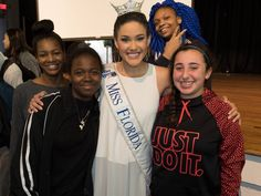 Miss Florida Talks to Winter Park Students About Addiction