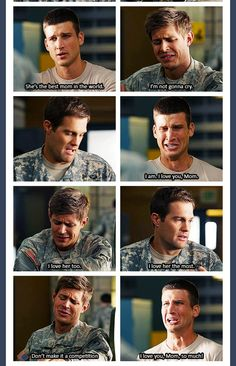 I love her more. Hahaha enlisted.