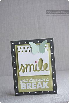 At the Office, Butterflies Die-namics, Smile Die-namics - Keisha Campbell #mftstamps