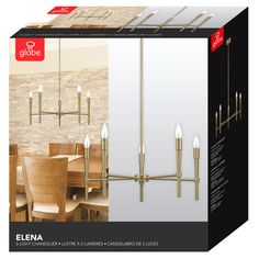 Elena 5-Light Candle-Style Chandelier & Reviews | AllModern