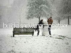 So fun. I built a snowman last year but it was so much easier when I was a kid. I was surprised
