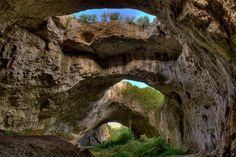 The Devetashkata Cave, Bulgraria