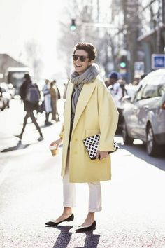 The yellow spring coat - thats not my age