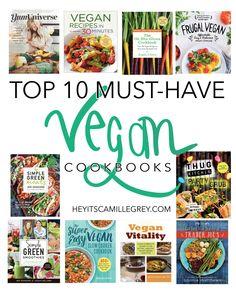 Top 10 Must-Have Vegan Cookbooks Best Vegan Cookbooks, Vegan Books, Plant Based Diet, Plant Based Recipes, Raw Food Recipes, Healthy Cook Books, Vegetarian Cookbook, Vegetarian Options, Abandoned Castles