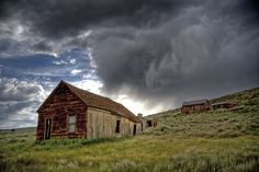 Bodie Historic State Park which was once a violent and lawless booming California gold mining town in the Wild West.