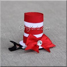 """""""Look at me!Look at me!Look at me NOW!It is fun to have funBut you have to know how."""" ~Dr. Seuss Absolutely adorable Cat in the Hat inspired tall hat! Measu"""