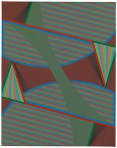"Tewes by Tomma Abts, 2010, acrylic & oil on canvas, 18.9 × 14.96"" (48 × 38 cm) 