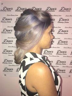 #divasbeautysalonmariaminier #mariaminier #olaplex #ombre #grayhair #greyhair #hair #blue