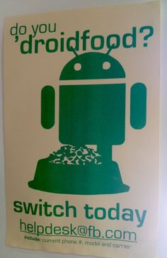 After Years Of Giving Employees iPhones, Posters At Facebook HQ Beg Them To Test Android