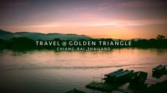 On Route 1209 To Chiang Saen District , Chiang Rai Province , Northern Thailand . Destination At Golden Triangle where Borders of Three Countries Meet Togeth. Northern Thailand, Golden Triangle, Thailand Travel, Road Trip, Movie Posters, Road Trips, Film Poster, Thailand Destinations, Billboard