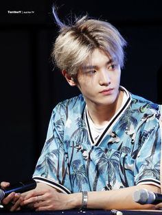 Taeyong ~ If I could only be as pretty as even that piece of hair