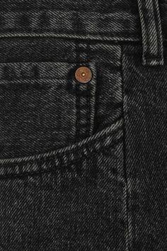 Vetements - Levi's Distressed Denim Shorts - Black - x small