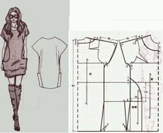 Amazing Sewing Patterns Clone Your Clothes Ideas. Enchanting Sewing Patterns Clone Your Clothes Ideas. Sewing Patterns Free, Free Sewing, Sewing Tutorials, Clothing Patterns, Sewing Crafts, Sewing Projects, Sewing Hacks, Sewing Dress, Diy Dress