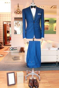 https://www.facebook.com/media/set/?set=a.10153191546984844.1073742408.94355784843&type=1  #fashion #style #menswear #mensfashion #mtm #madetomeasure #buczynski #buczynskitailoring #ariston #suit #bluesuit #tailoring #bowtie