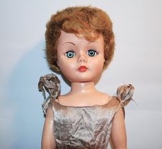 Lovable Linda Doll w/box Deluxe Reading 1958. ~ She looks like my vintage grocery store doll bought at the doll show.